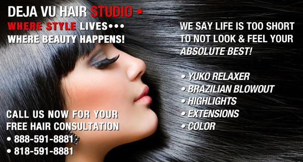 DEJA VU STUDIO • A Full Service Hair Studio